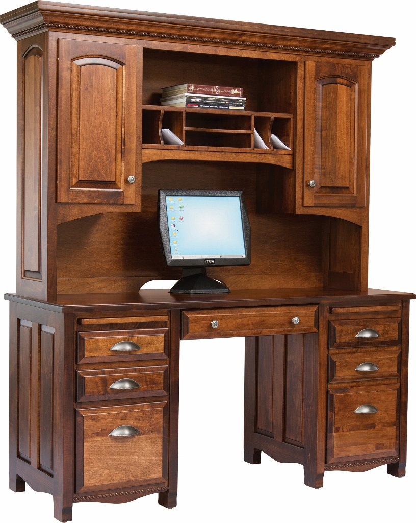 Laurel Double Pedestal Computer Desk