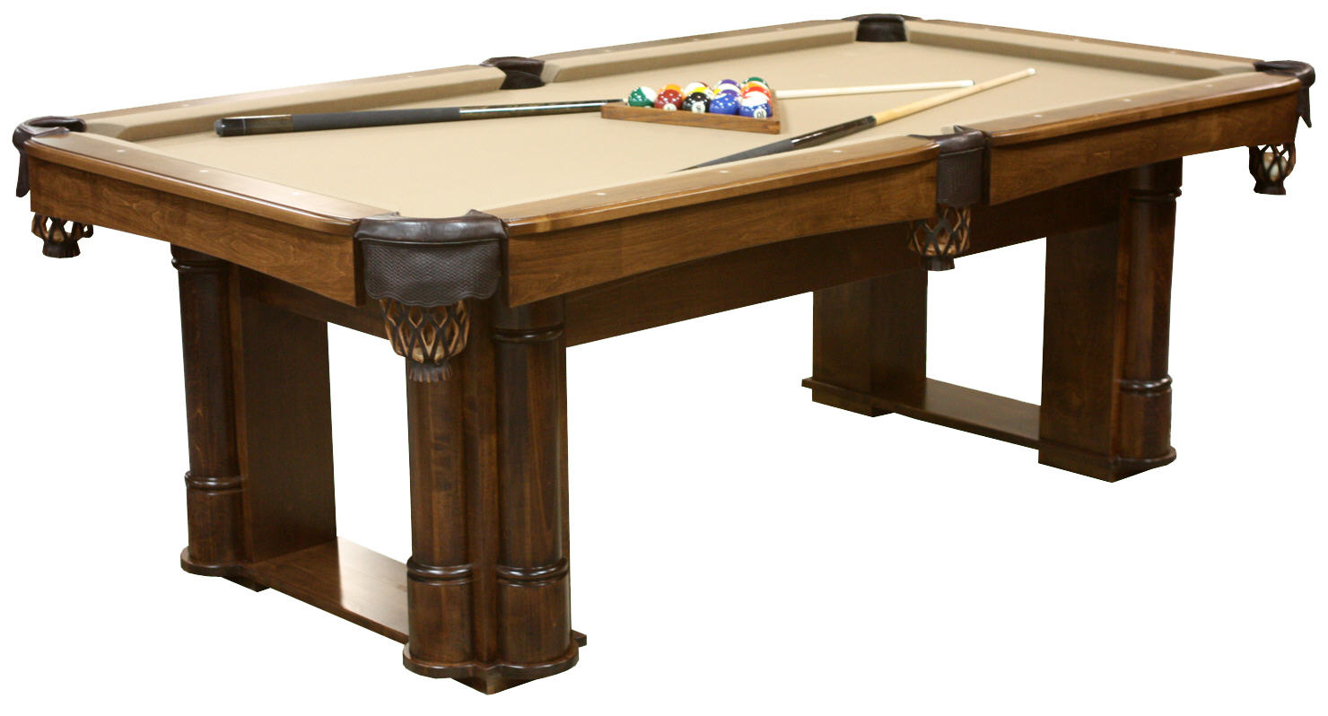 Regal Billiard Table REGALO Wood Accents Game Tables - Stone pool table