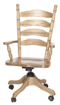 Ladder Back Office Chair