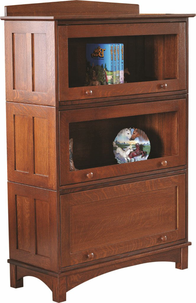 Mission stackable barrister bookcase 455 820 22 office for Stone barn furnishings