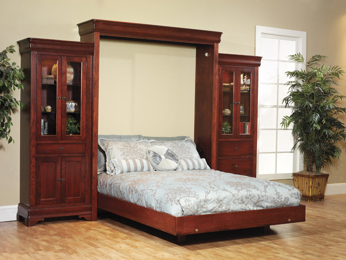 Louis Phillipe Wall Bed