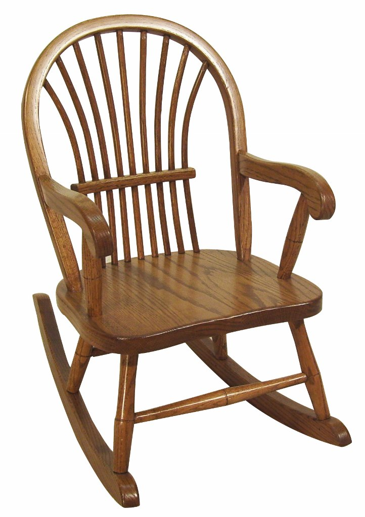 Child's Sheaf Rocking Chair