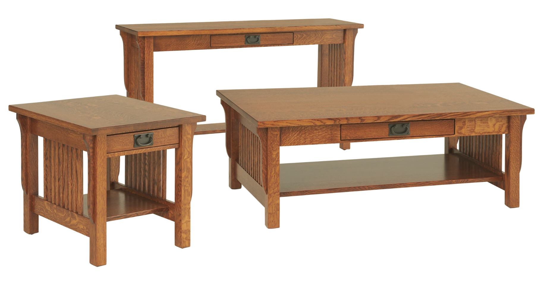Landmark occasional tables 303 lm2442 108 occassionals for Stone barn furnishings