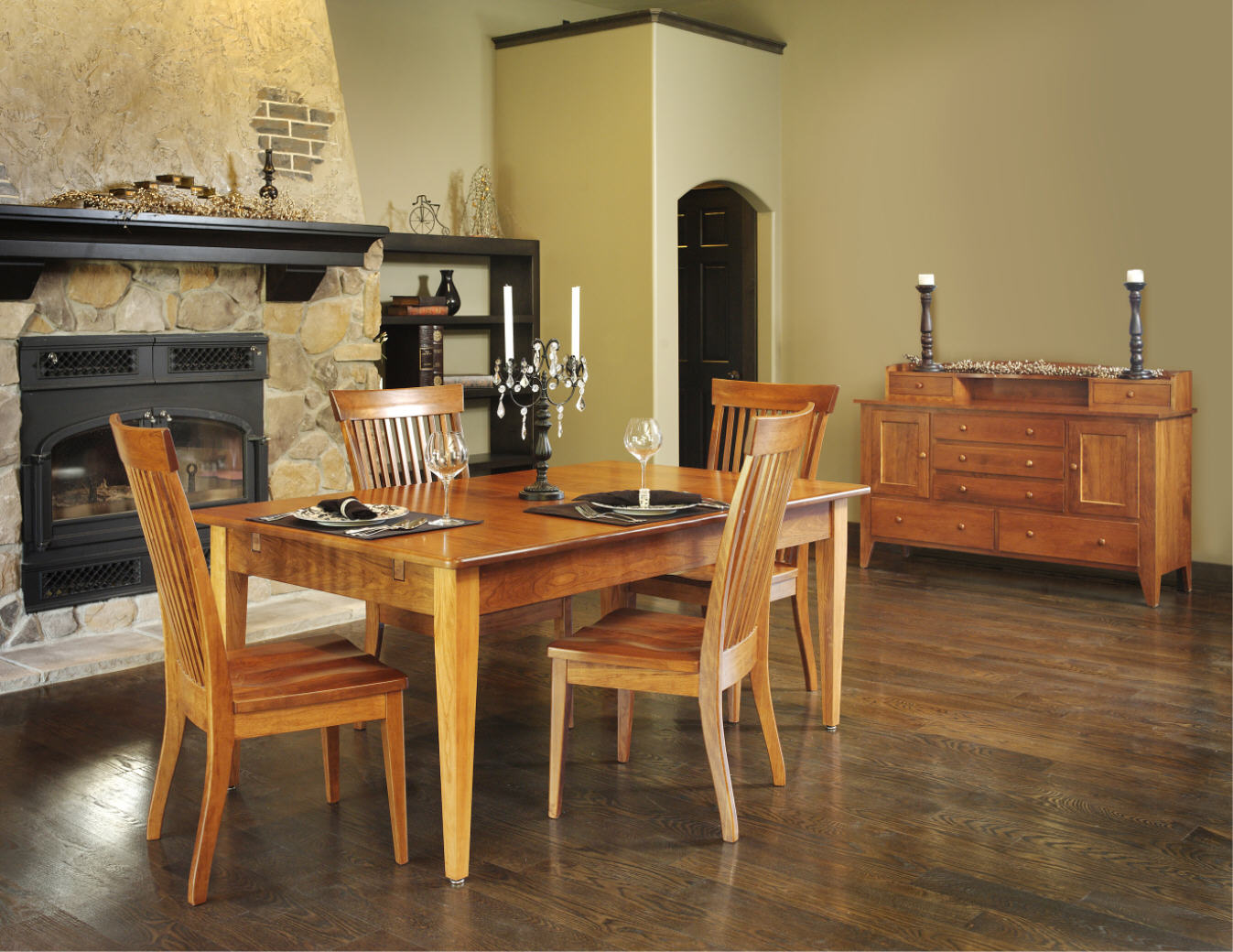 Dutch creek table 109 21000 19 dining furniture for Stone barn furnishings
