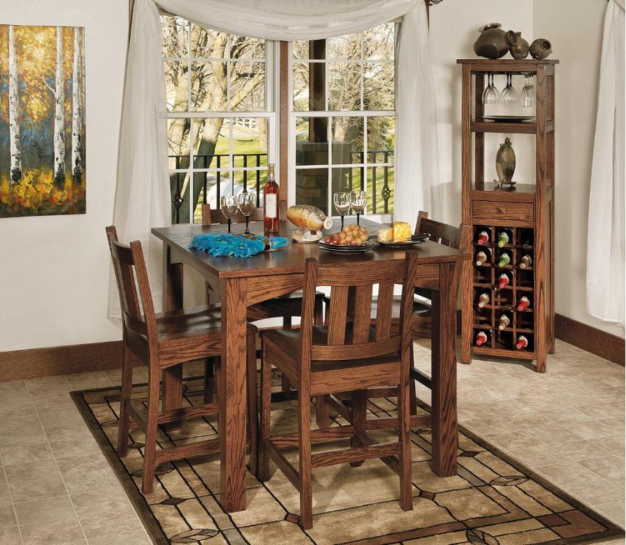 Madison Pub Table 103 Madisonpub 102 Dining Furniture Tables Stone Barn Furnishings Inc