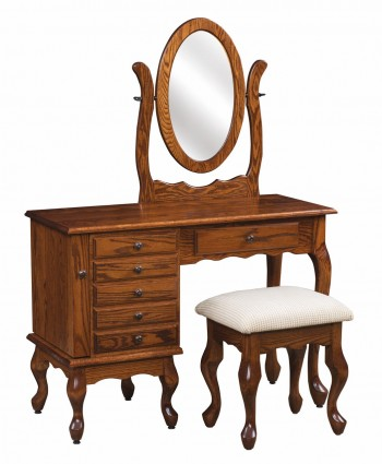 Queen Anne Jewelry Dressing Table