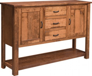 Riverton Rustic Tall Sideboard
