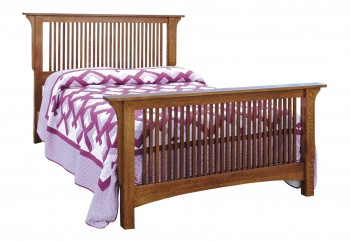 Empire Mission Spindle Bed