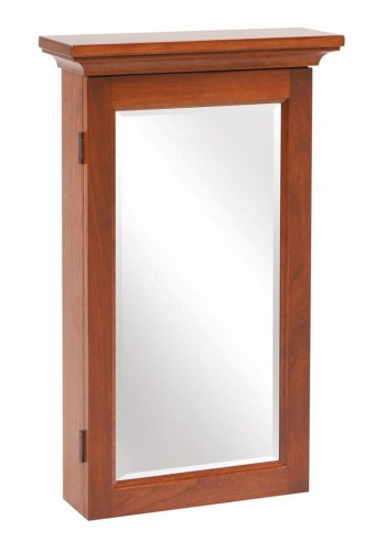 Shaker Mirror with Jewelry Storage