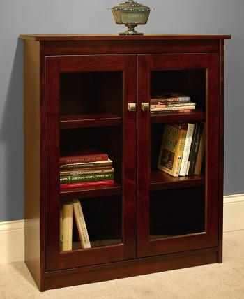 Candler Bookcase w/Doors