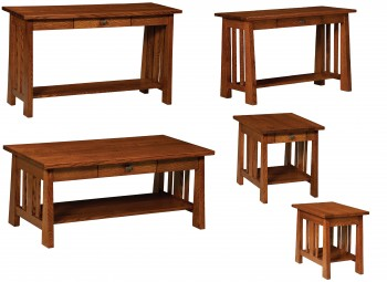 Freemont Mission Open Occasional Tables