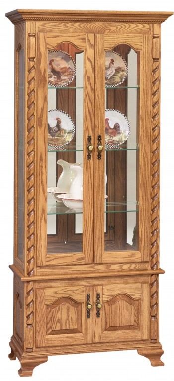 Picture Frame Curio with Ropes