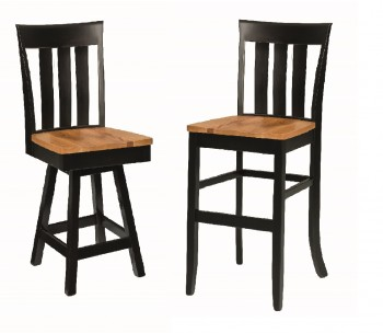Jamestown Triple Slat Bar-Chair
