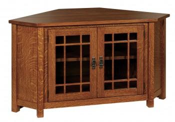 Landmark Flat Screen Corner TV Cabinet