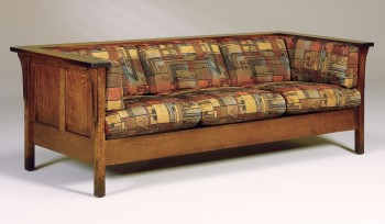 Cubic Mission Panel Sofa