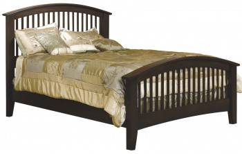 Cambrai Mission Arched Footboard Bed