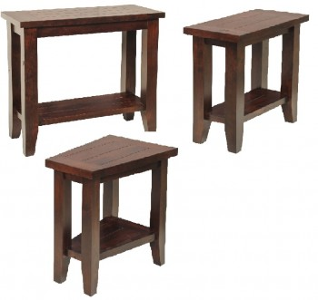 Plank Top Occasional Tables