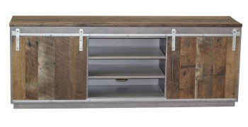 Fusion Barn Door TV Stand