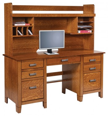 Jacobsville Double Pedestal Desk