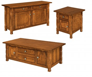 Rock Island Cabinet Occasional Tables