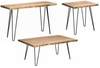 Hairpin Base Occasional Tables