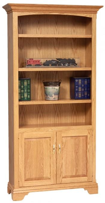 Stockton Bookcase w/doors