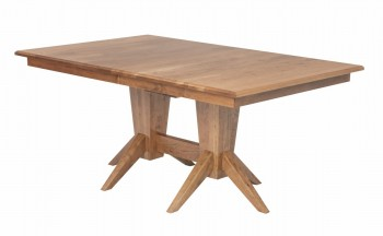 Milan Double Pedestal Table