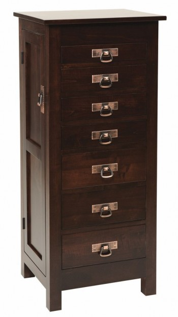 Mission Flush Jewelry Armoire