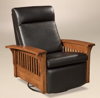 Hoosier Swivel Glider Recliner