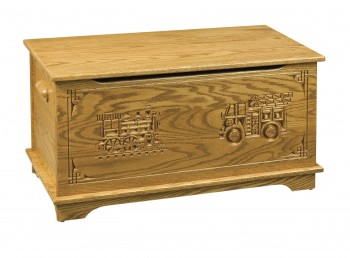 Shaker Toy Box w/Truck & Train