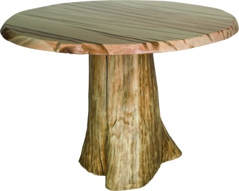 Round Dining Stump Table