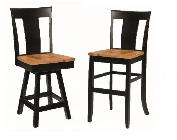 Jamestown Single Slat Bar-Chair