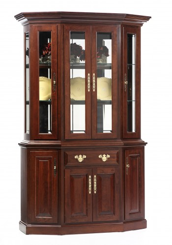 Queen Victoria Canted Front Hutch