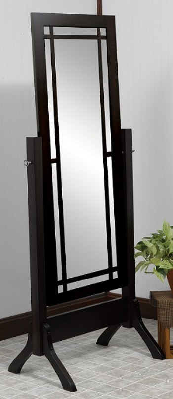 Colonial Mission Cheval Mirror