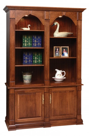 Twin Crescent Moon Bookcase