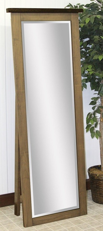 Barn Wood Leaner Mirror