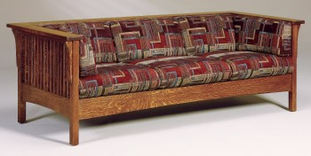 Cubic Mission Slat Sofa