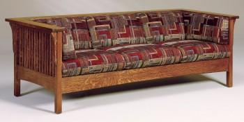Cubic Mission Slat Sofa