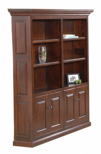 Newport Double Bookcase