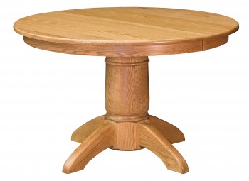 Tuscan Single Pedestal Table