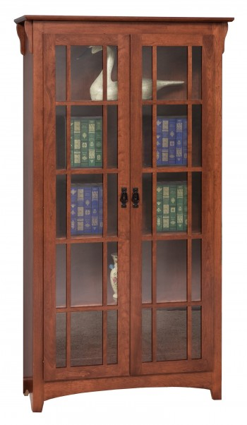 Mission Double Door Bookcase