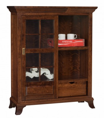 Chesapeake Sliding Door Bookcase