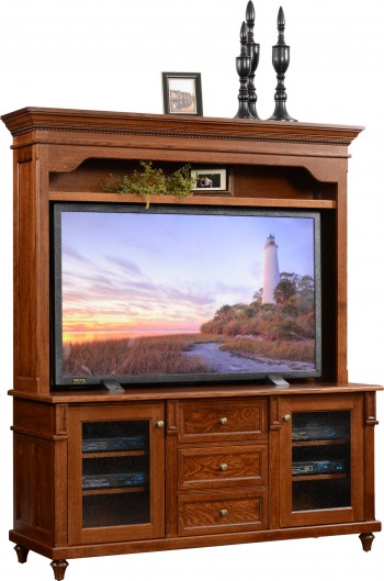 Bridgeport TV Stand w/Hutch