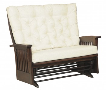 Deluxe Mission Glider Loveseat