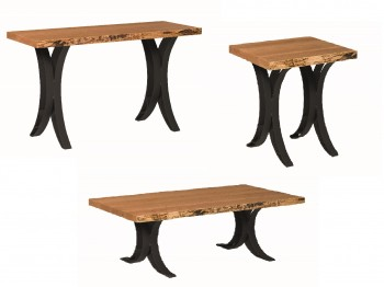 Curved Base Occasional Tables