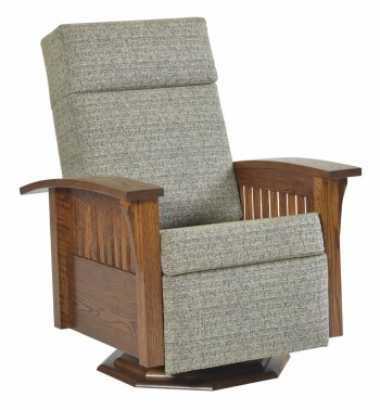 Mission Swivel Glider Recliner