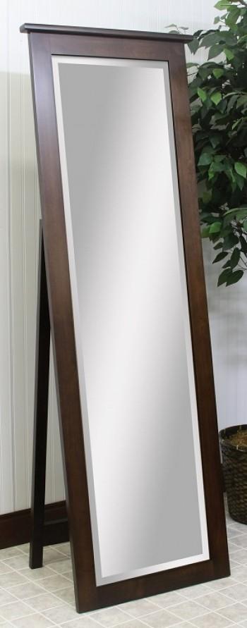 Traditional Shaker Leaner Mirror
