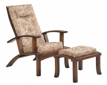 Palmer Park Chair and Ottoman