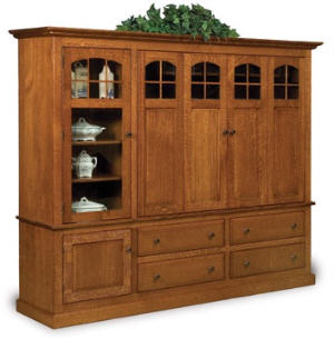Forks Contemporary Mission Media Cabinet