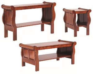 Sleigh Occasional Tables